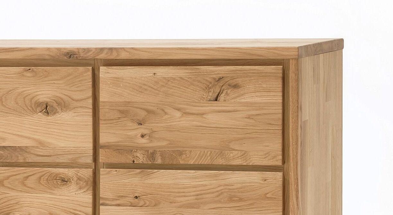 Grifflose Kombi-Kommode Listra aus Holz