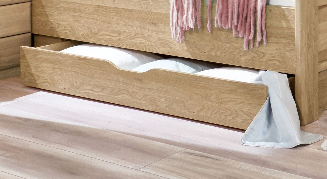 Komfort-Doppelbett Bloomfield mit praktischem Schubkasten