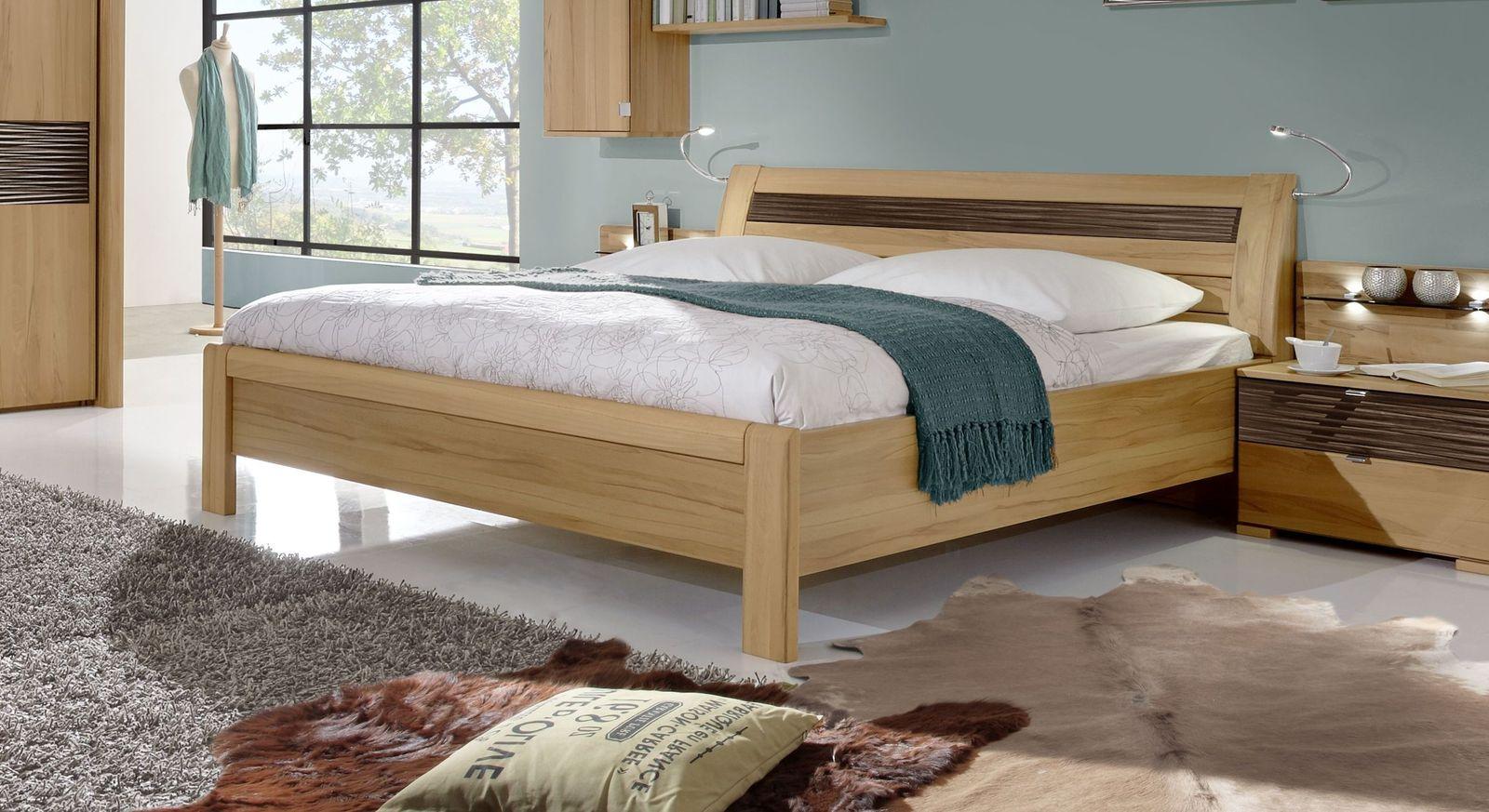 Komfort-Doppelbett Burbia in attraktivem Designer-Look