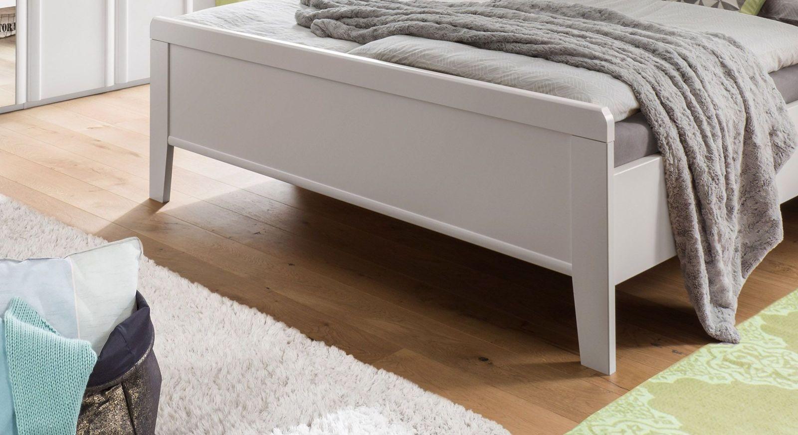Komfort-Doppelbett Calimera mit leicht erhöhtem Fußteil