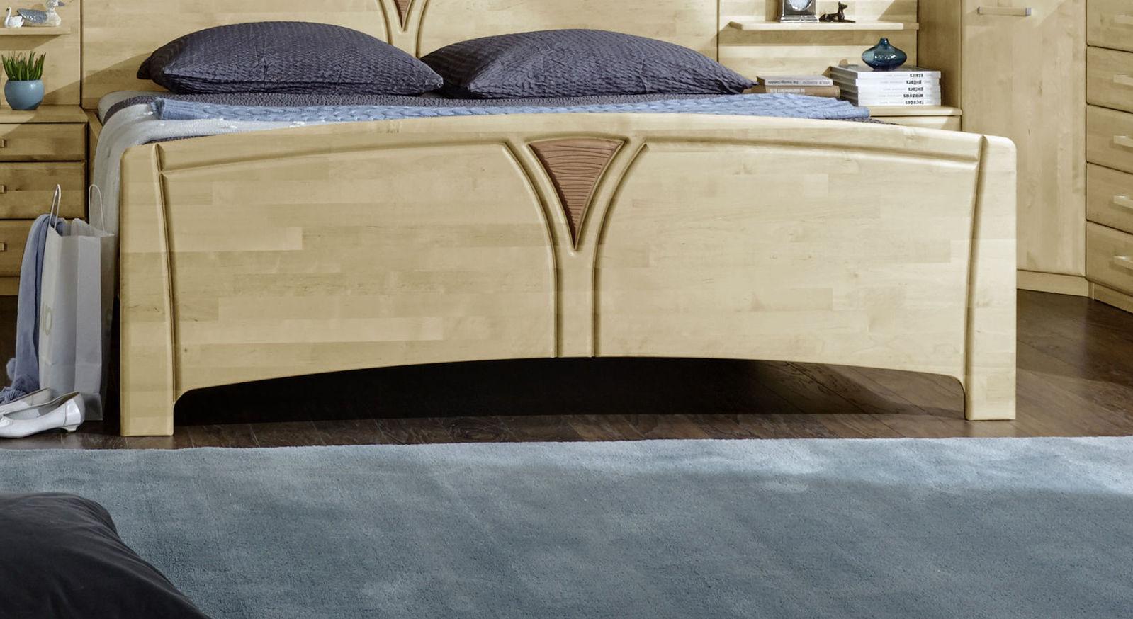 Komfort-Doppelbett Karia inklusive Fußteil