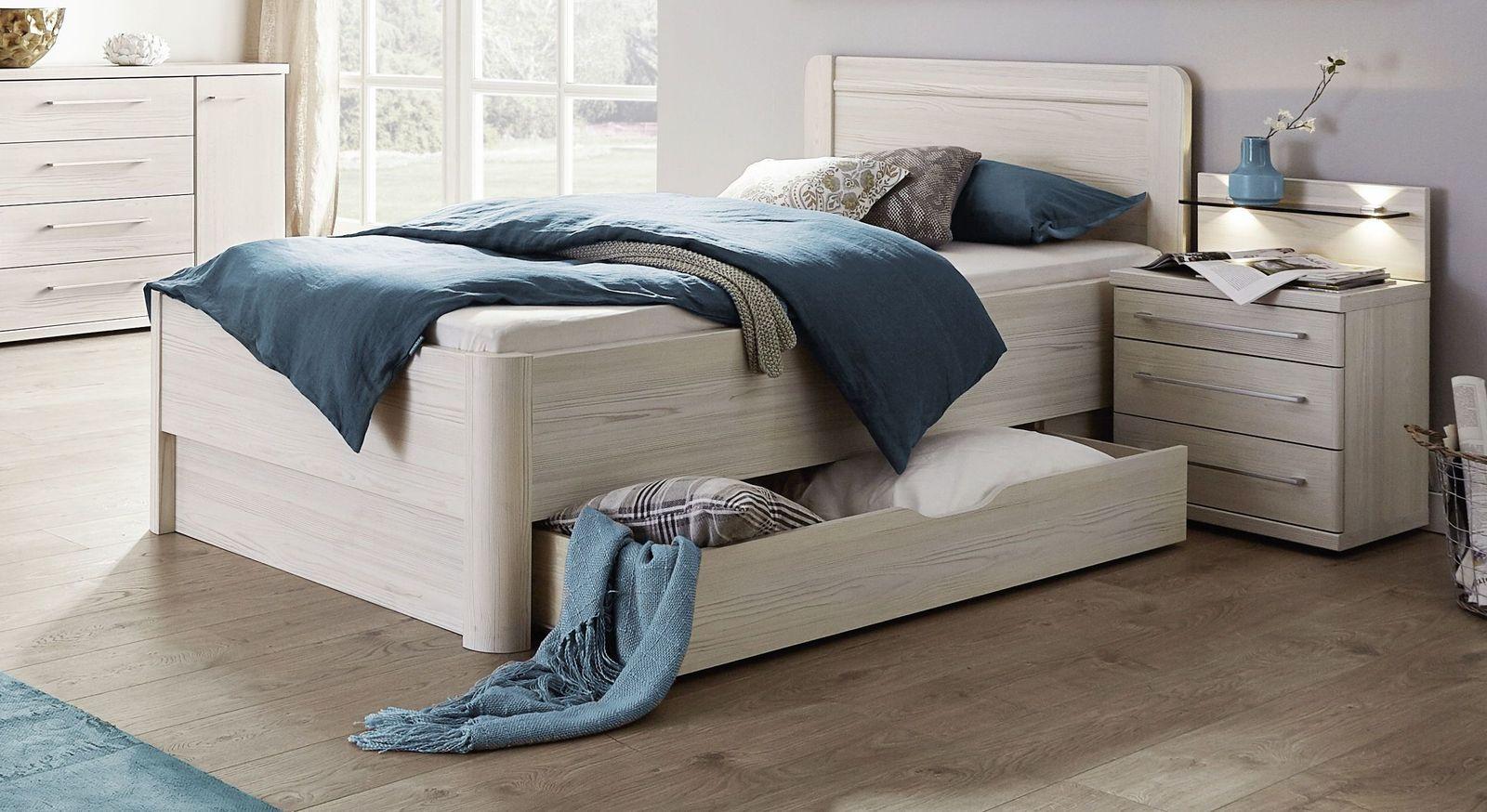 Komfort-Einzelbett Apolda mit optionalem Schubkasten