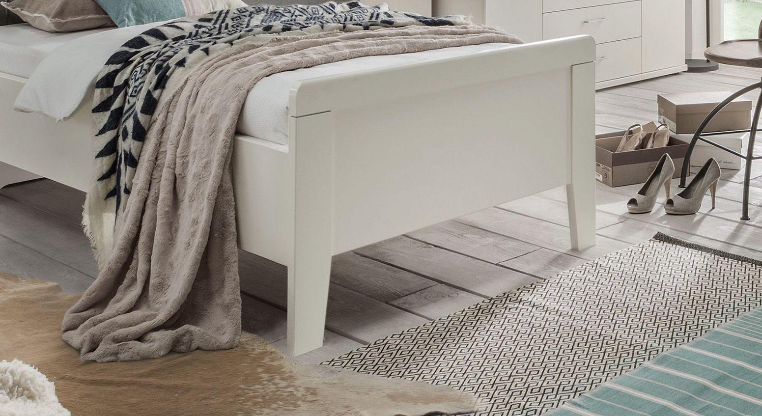 Komfort-Einzelbett Casperia inklusive Fußteil