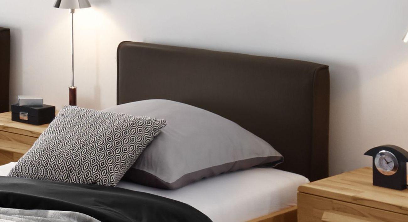 Komfort-Einzelbett Pavora aus Luxus-Kunstleder