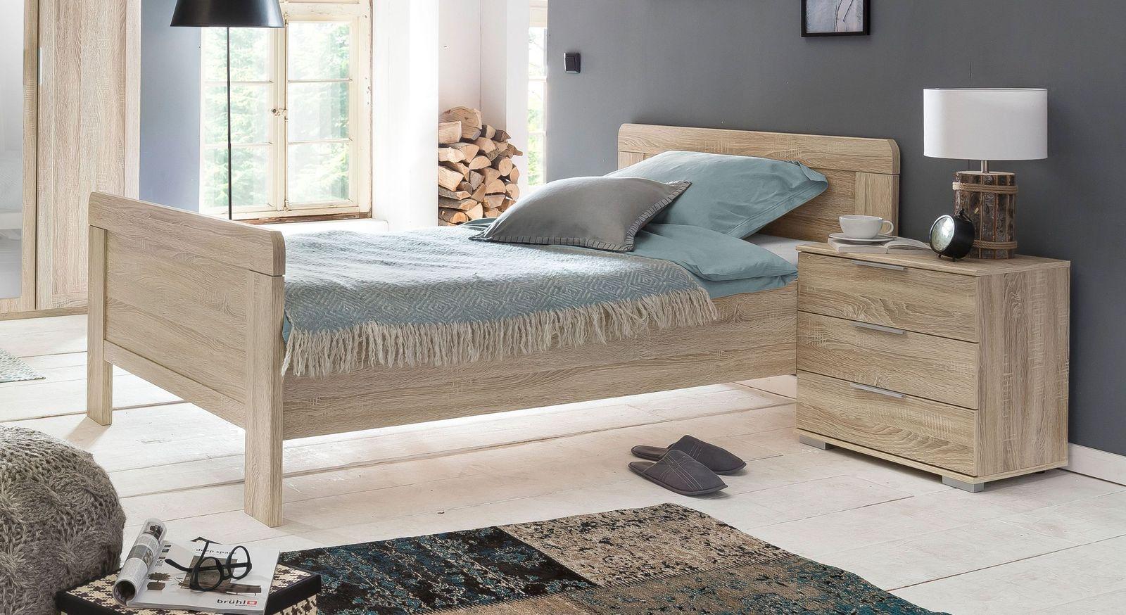 Komfort-Einzelbett Sinello mit klassischem Bettgestell