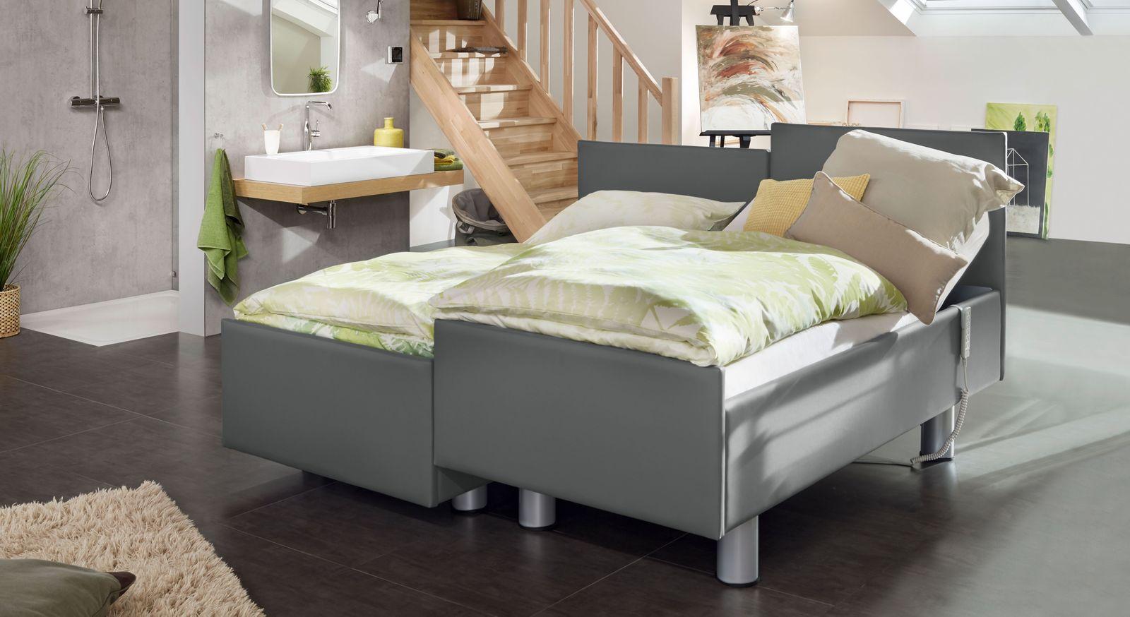 Komfortbett mit Pflegebett-Funktion Fulda mit passenden Matratzen
