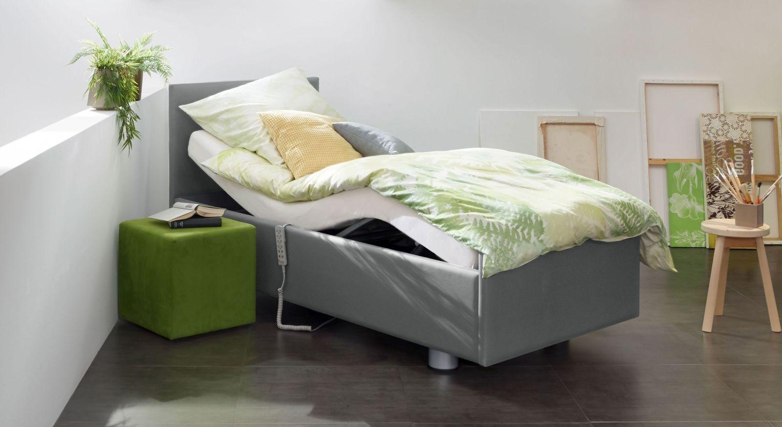 Komfortbett mit Pflegebett-Funktion Fulda mit elektrischer Verstellung