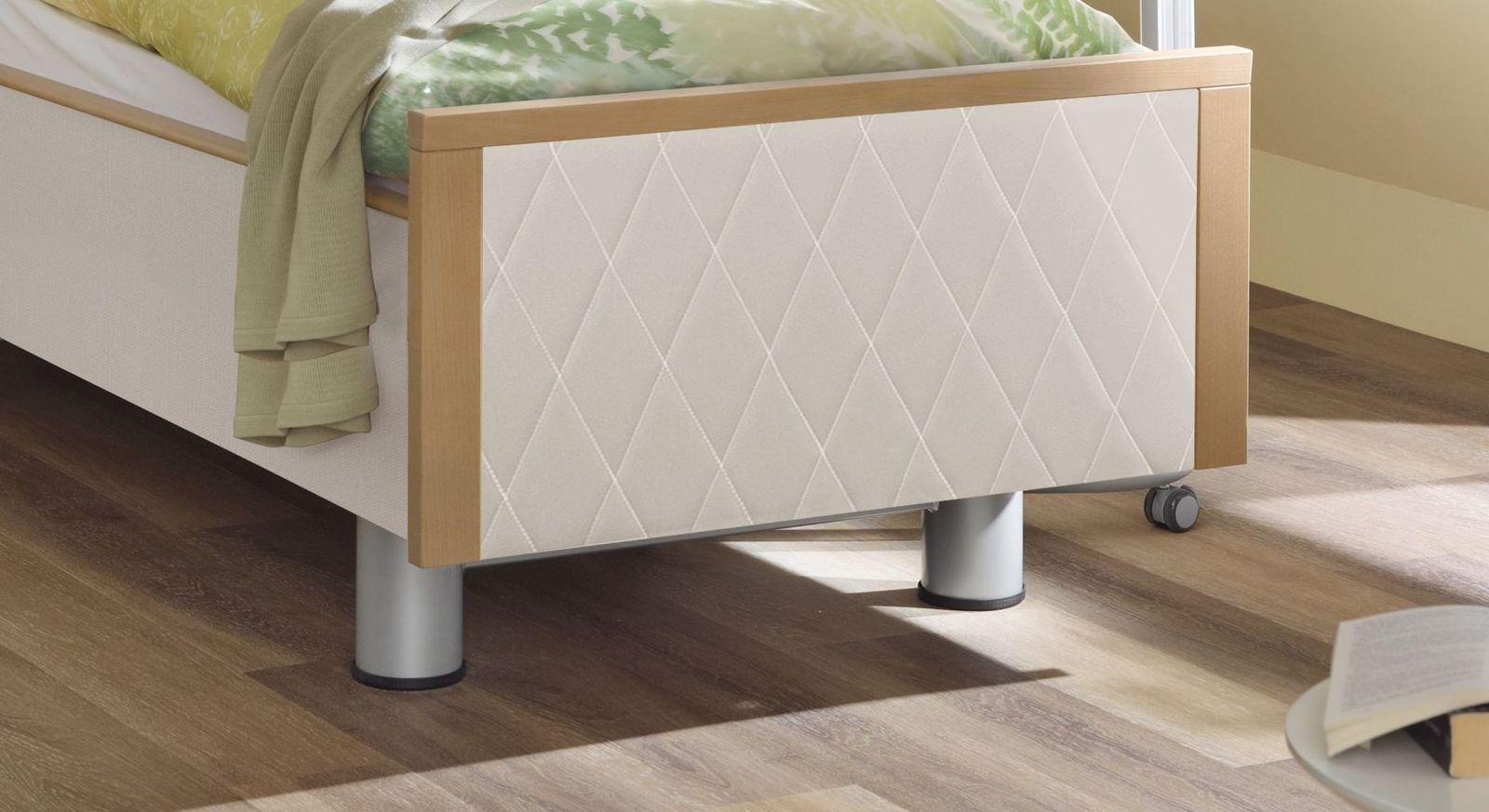 Komfortbett mit Pflegebett-Funktion Rügen inklusive Fußteil