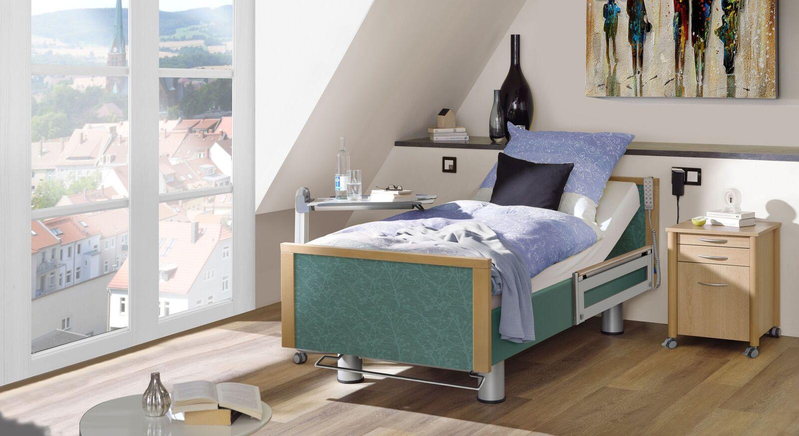 Passende Produkte zum Komfortbett mit Pflegebett-Funktion Sylt