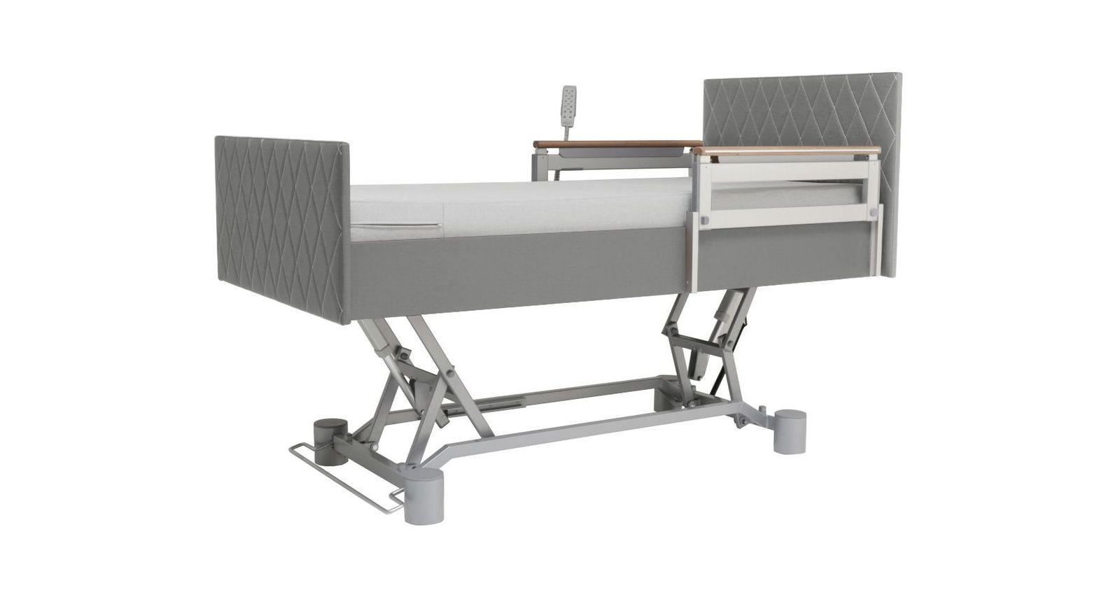 Komfortbett mit Pflegebett-Funktion mit praktischer Verstellung
