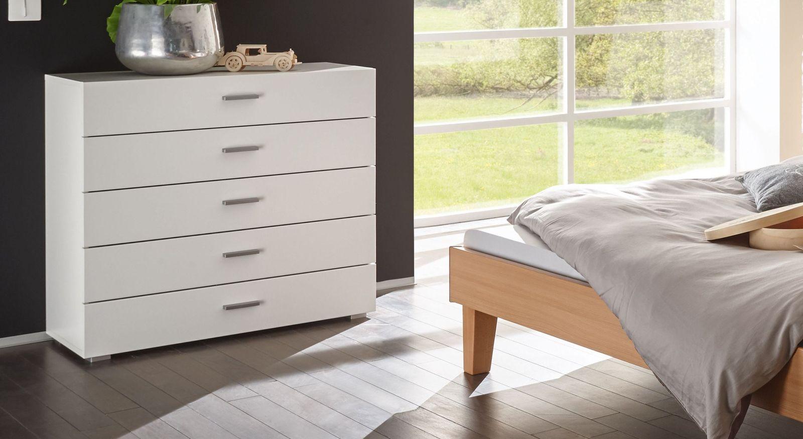 Geraumige Holzkommode Auf Rechnung Kaufen Cubo Betten De