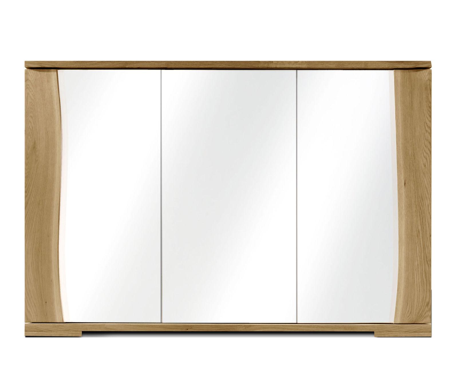Rustikale massivholz kommode mit baumkante wildeiche ge lt for Kommode glasfront