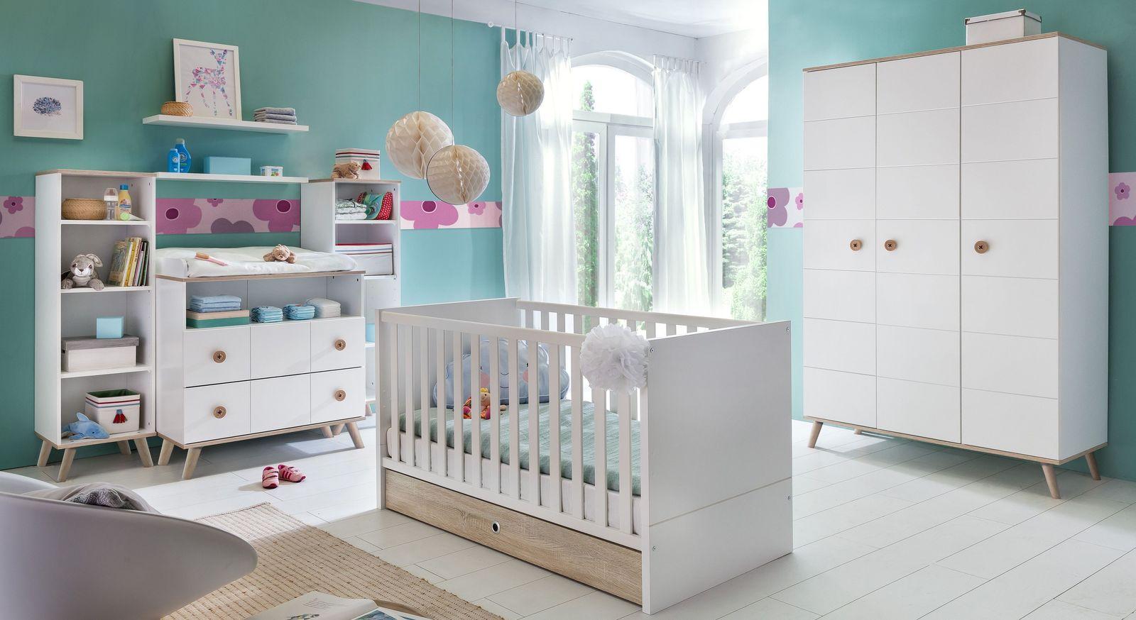 Komplett-Babyzimmer Beano in zeitlosem Design