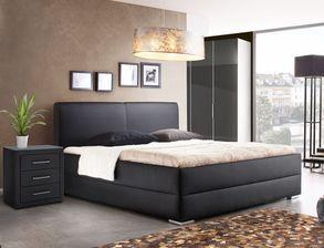 elegante schlafzimmer in grau f r ein ruhiges ambiente. Black Bedroom Furniture Sets. Home Design Ideas
