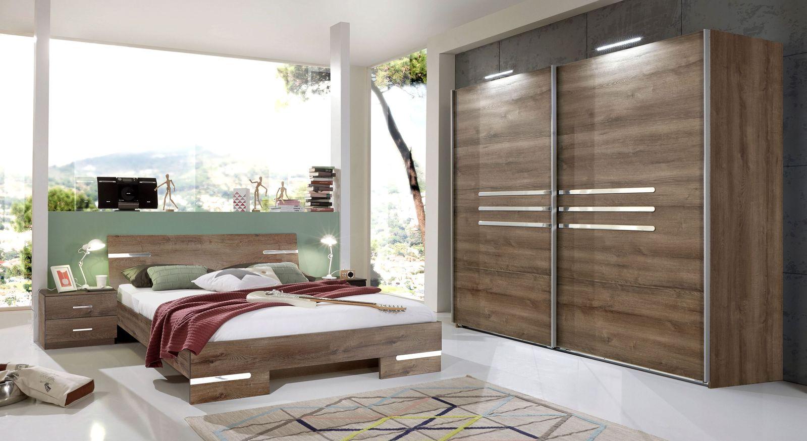 Komplett-Schlafzimmer Avello in attraktivem Dekor