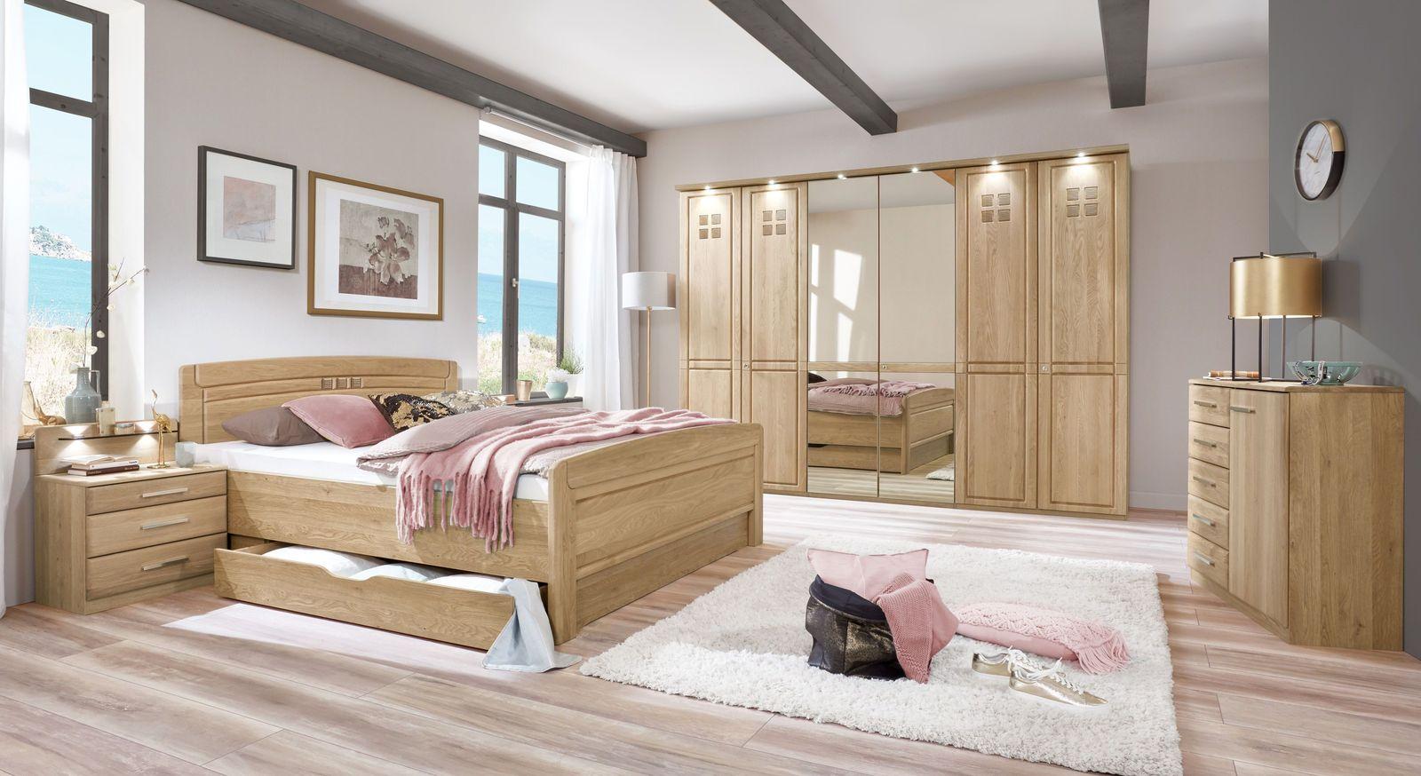 Komplett-Schlafzimmer Bloomfield in zeitlosem Design