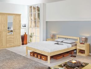 schlafzimmer aus massivholz g nstig kaufen. Black Bedroom Furniture Sets. Home Design Ideas