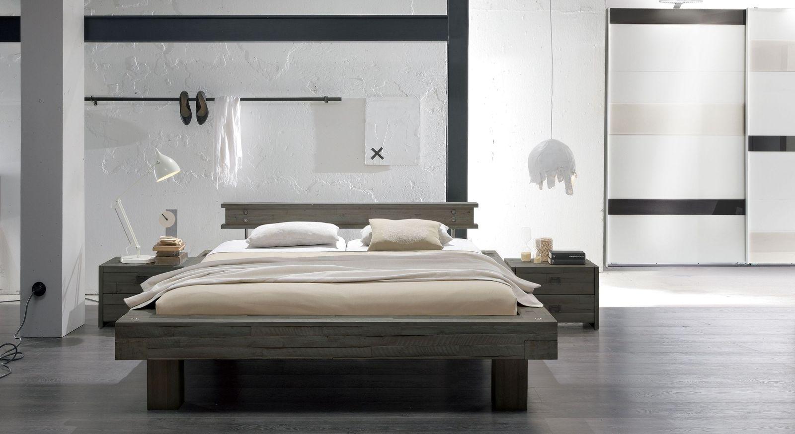 Komplett Schlafzimmer Buena Im Rustikalen Industrial Look