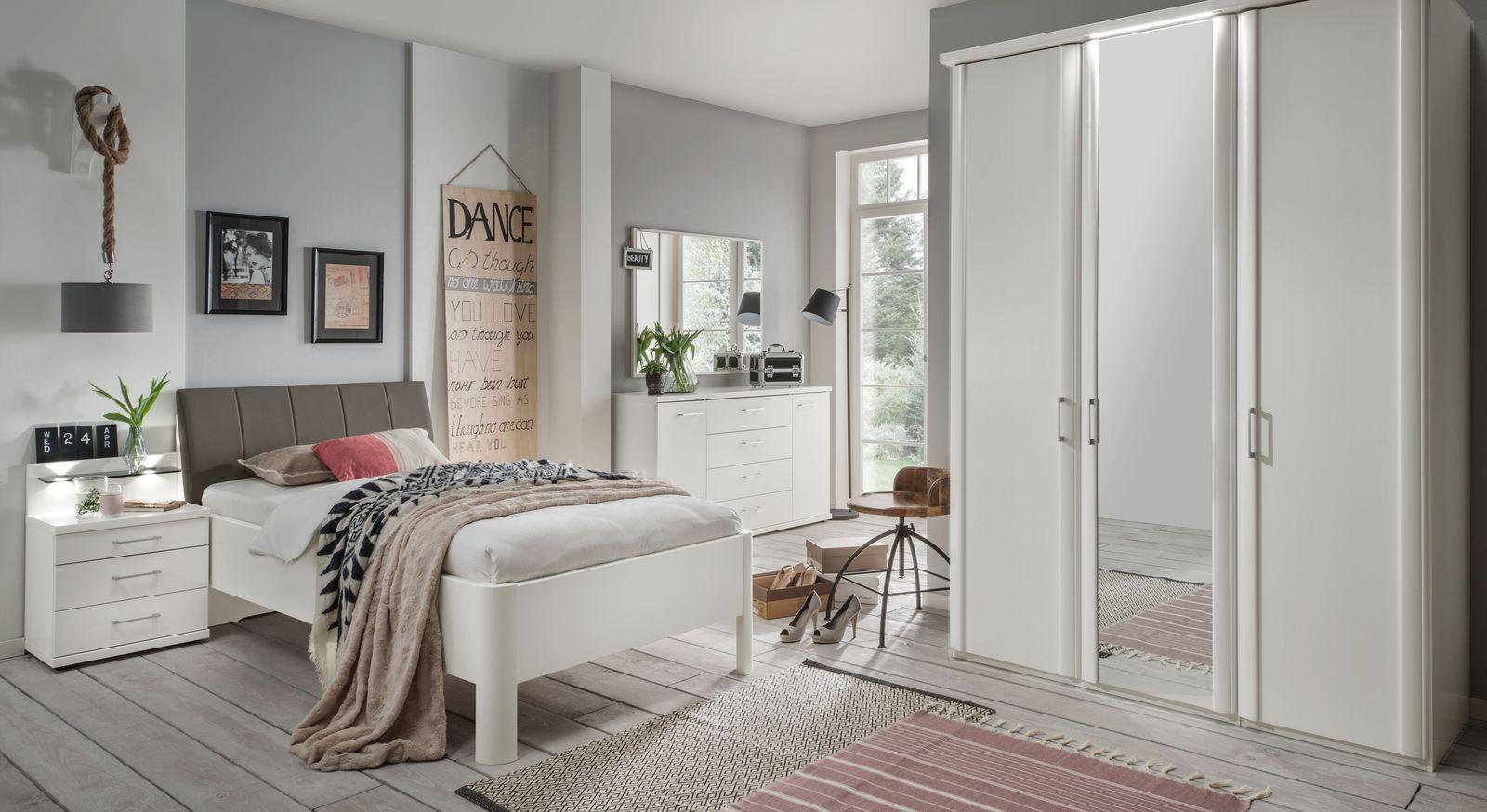 Schlafzimmer in Weiß günstig bei BETTEN.de online kaufen