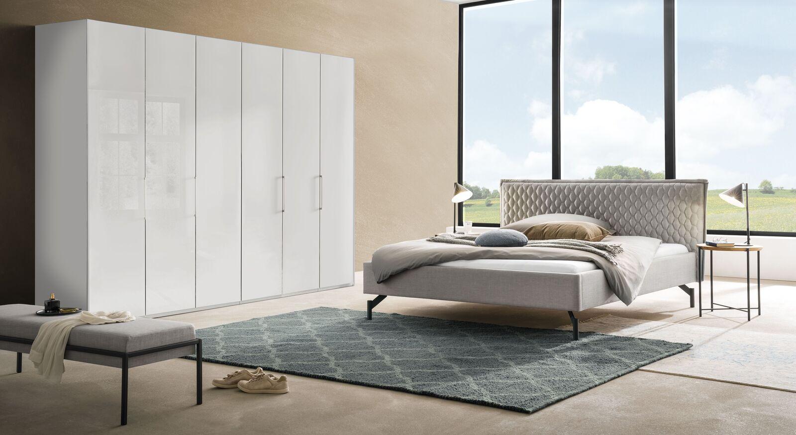 Komplett-Schlafzimmer Esko in harmonischem Design