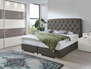 Hochwertiges Komplett Schlafzimmer Gainesville Mit  Schiebetüren Kleiderschrank