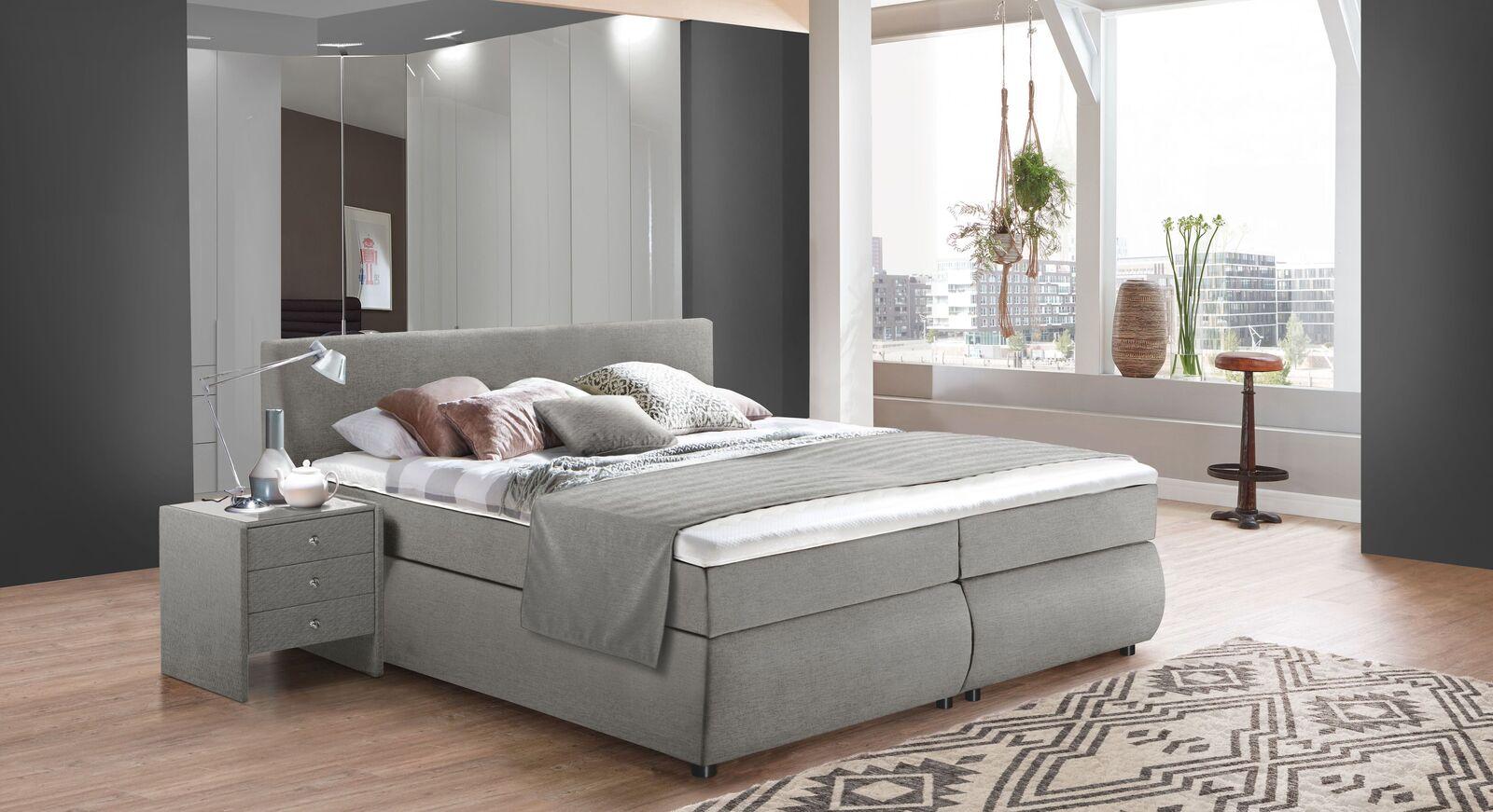 Komplett-Schlafzimmer Highgate mit Eck-Kleiderschrank