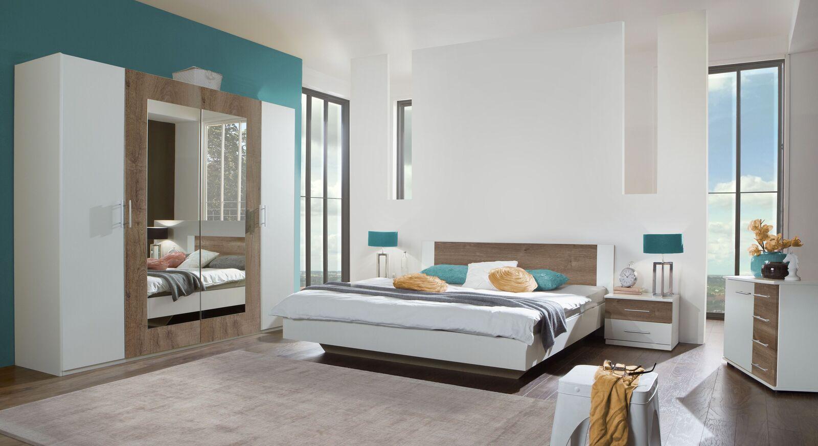 Komplett-Schlafzimmer Kenva in zwei unterschiedlichen Dekoren
