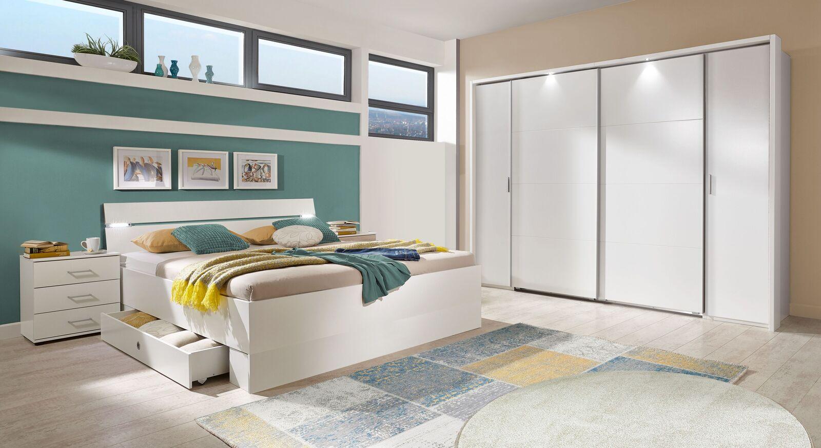 Komplett-Schlafzimmer Kiraly im zeitlosen Look