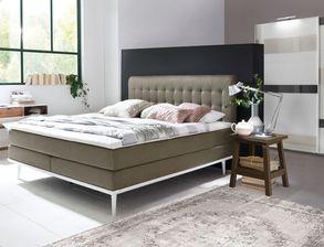 Komplett Schlafzimmer Mit Kleiderschrank Und Boxspringbett Tromello