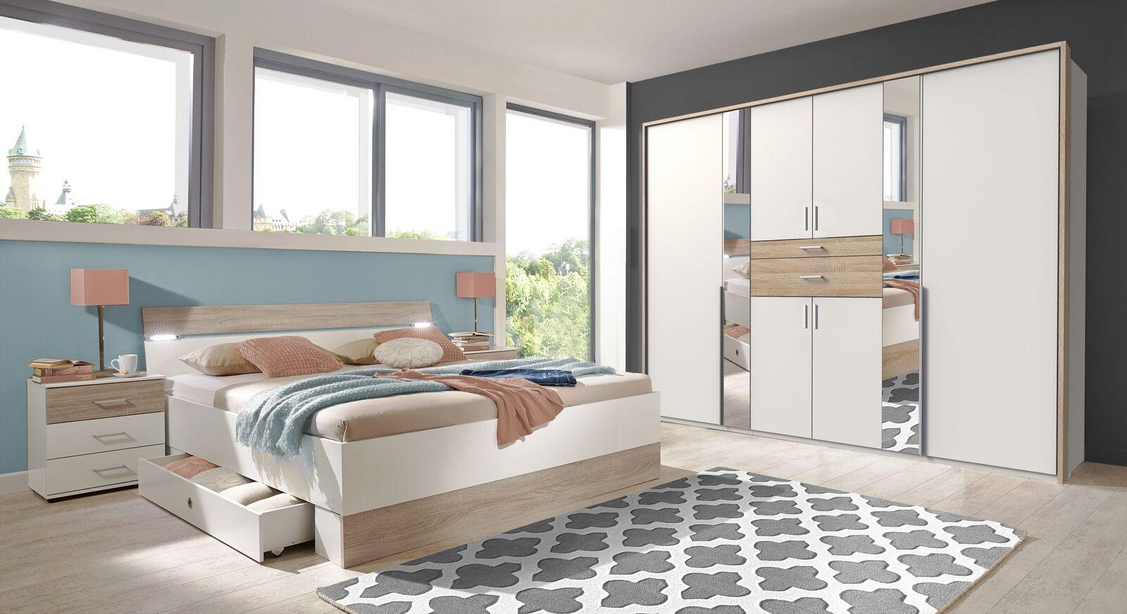 Komplett-Schlafzimmer Kormoran in moderner Optik