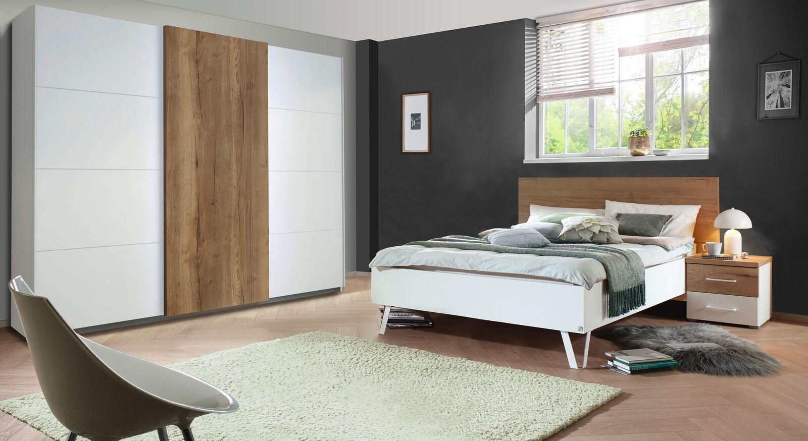 Komplett-Schlafzimmer Leona in schickem Design