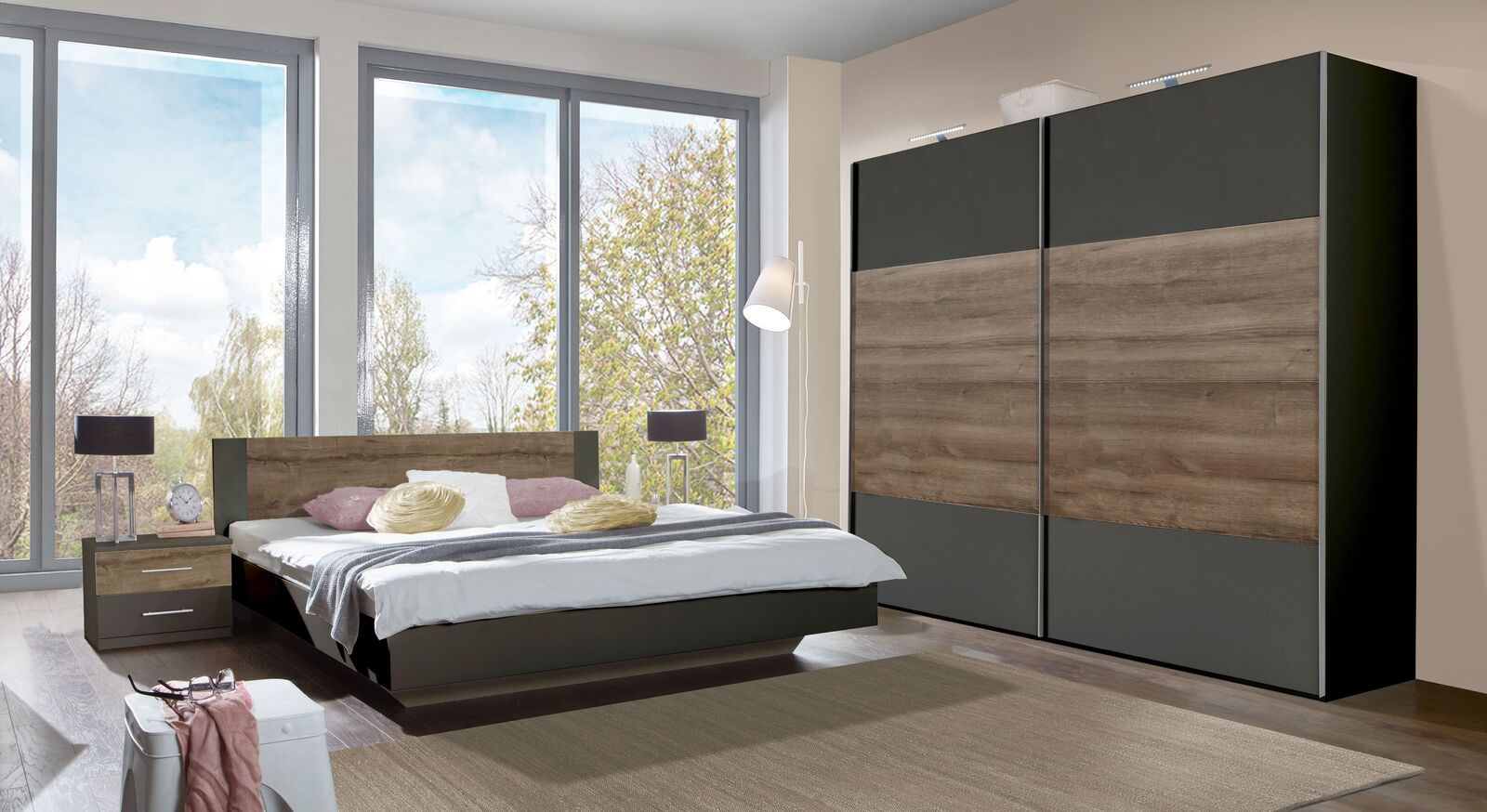Komplett-Schlafzimmer Lika preiswert online erhältlich