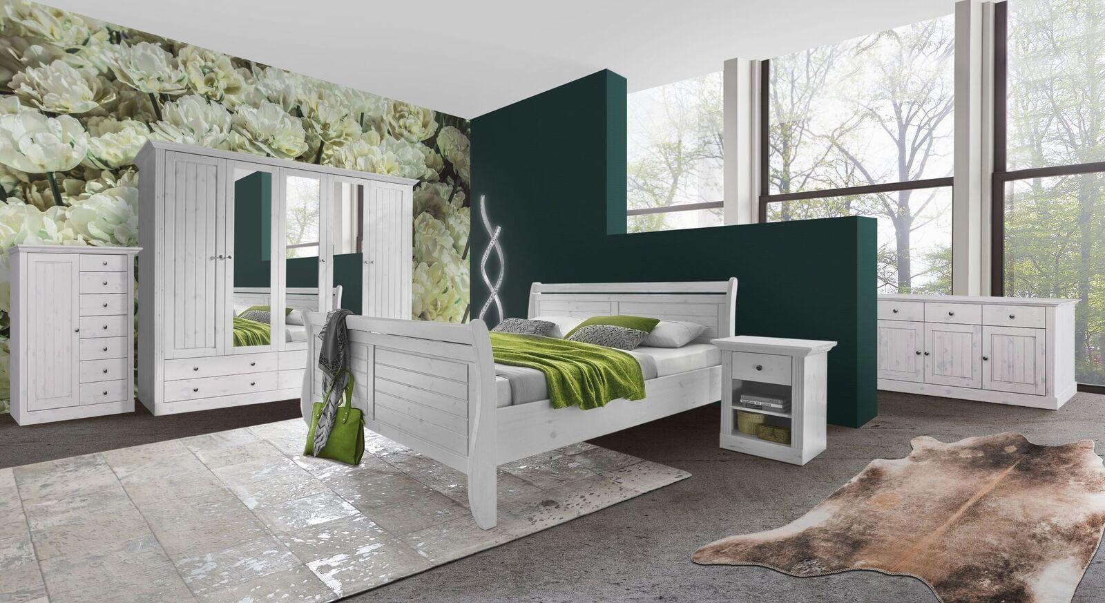 Komplett-Schlafzimmer Liska im angesagten Landhausstil