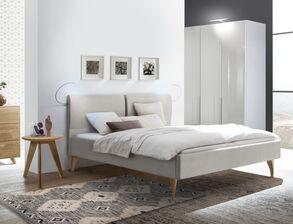 Elegante Schlafzimmer in Grau für ein ruhiges Ambiente