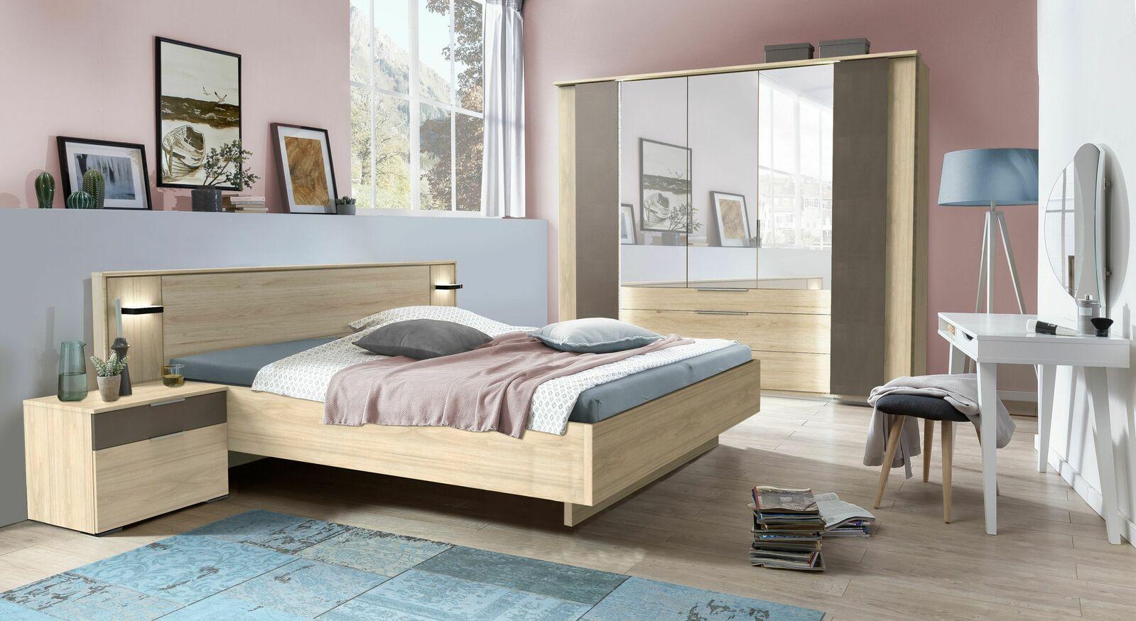 Komplett-Schlafzimmer Naila mit schlichtem Charme