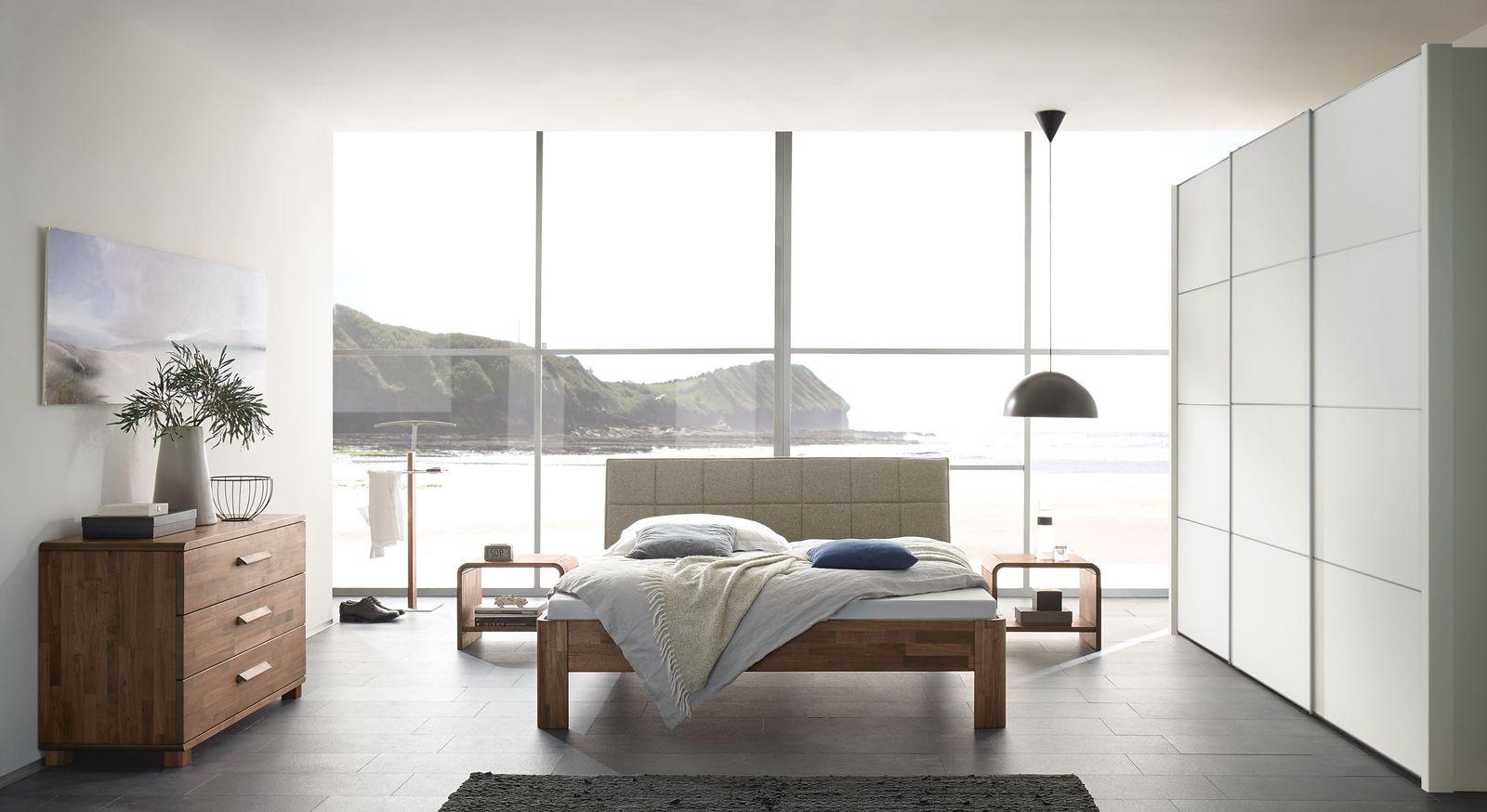 Komplett Schlafzimmer Pello Mit Abgestimmten Möbeln