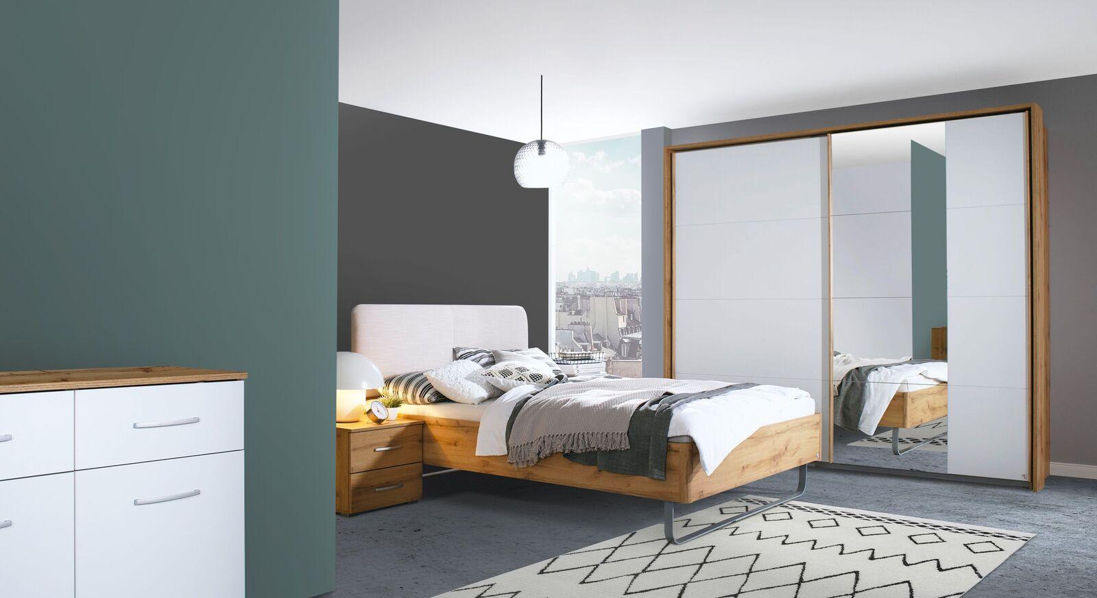 Attraktives Komplett-Schlafzimmer Sedina