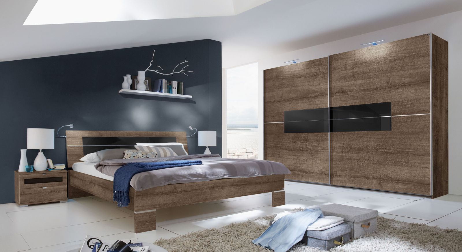 sch n g nstige schlafzimmer komplett deutsche deko. Black Bedroom Furniture Sets. Home Design Ideas