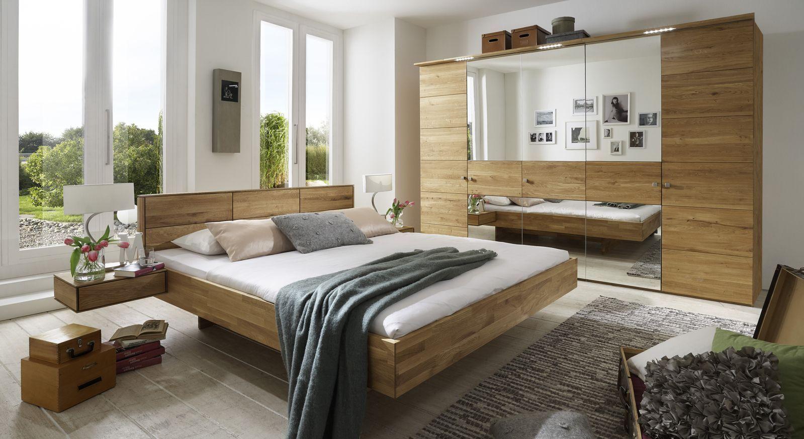 Komplett-Schlafzimmer Terrano in Wildeiche