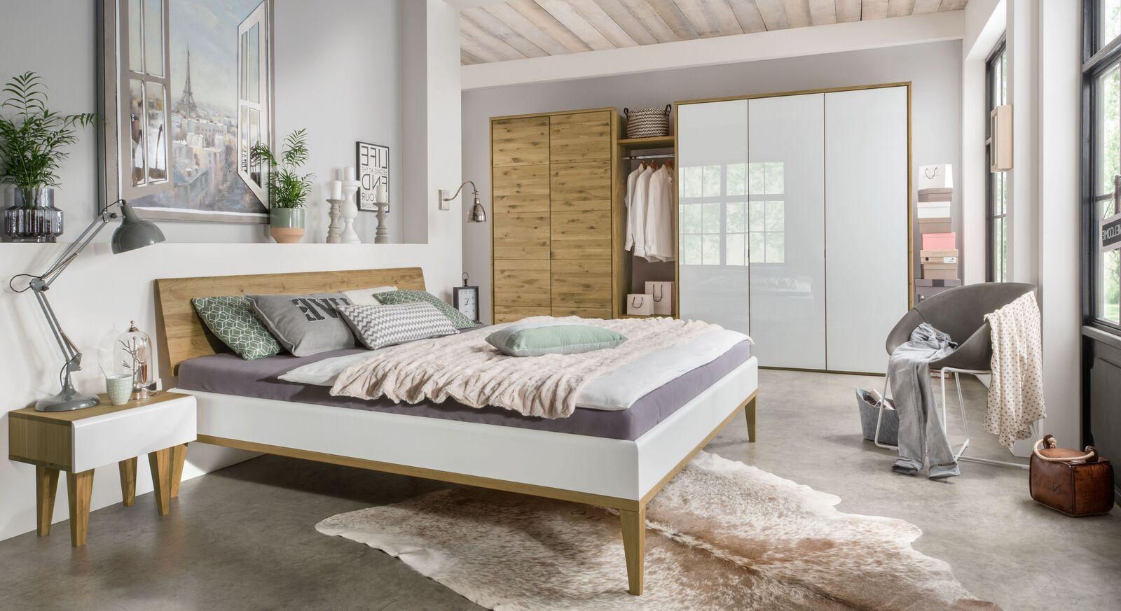 Komplett-Schlafzimmer Vacallo im angesagten Retro-Look