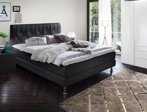 schlafzimmer in schwarz f r klassisch elegante r ume. Black Bedroom Furniture Sets. Home Design Ideas
