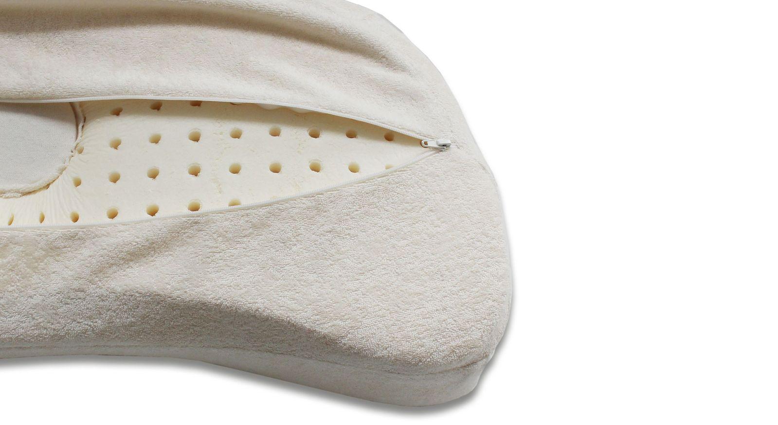 Kopfmulde-Nackenstützkissen variadorm mit waschbarem Bezug