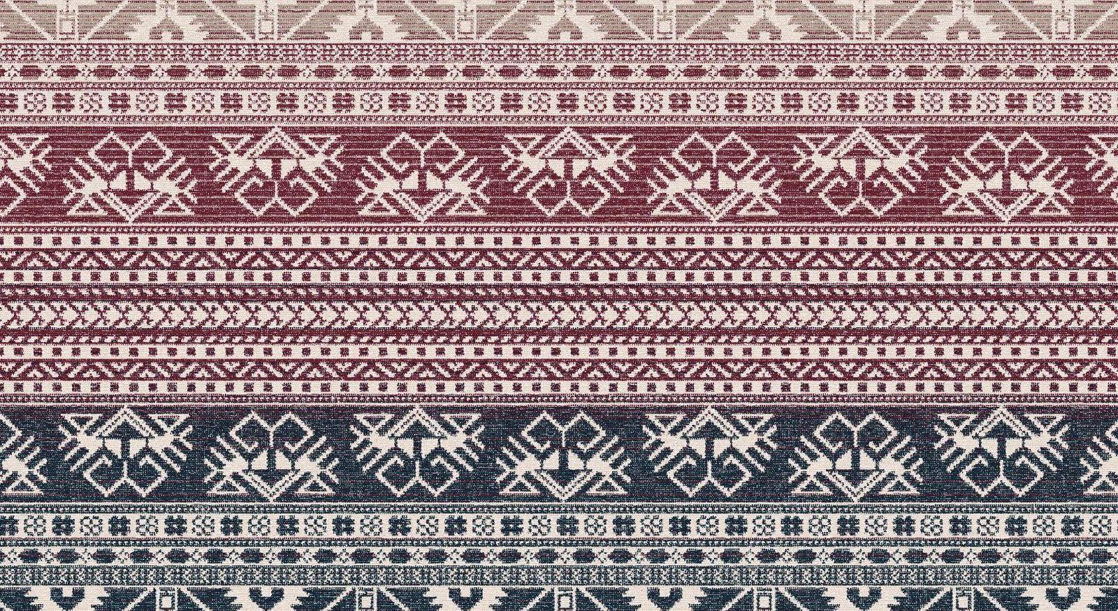 Kuscheldecke Maya mit stylischem Ethno-Muster