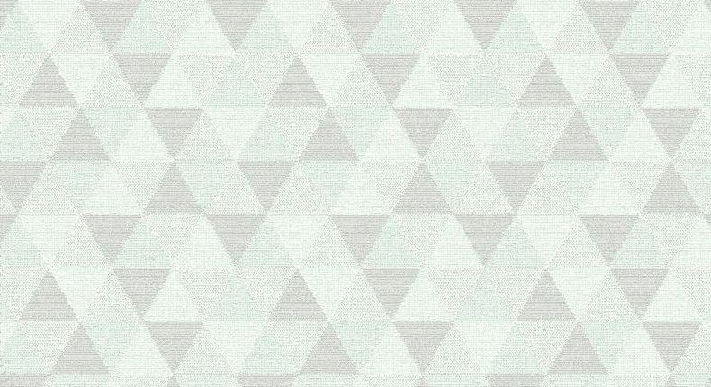 Kuscheldecke Triangel mit modernem Muster aus Dreiecken