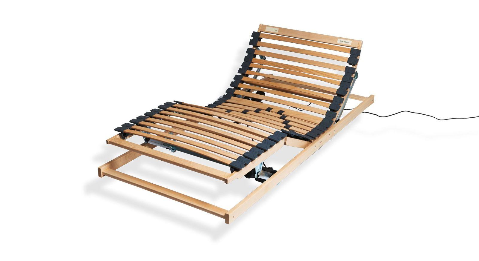 Preiswerter Lattenrost electroflex aus stabilem Holz