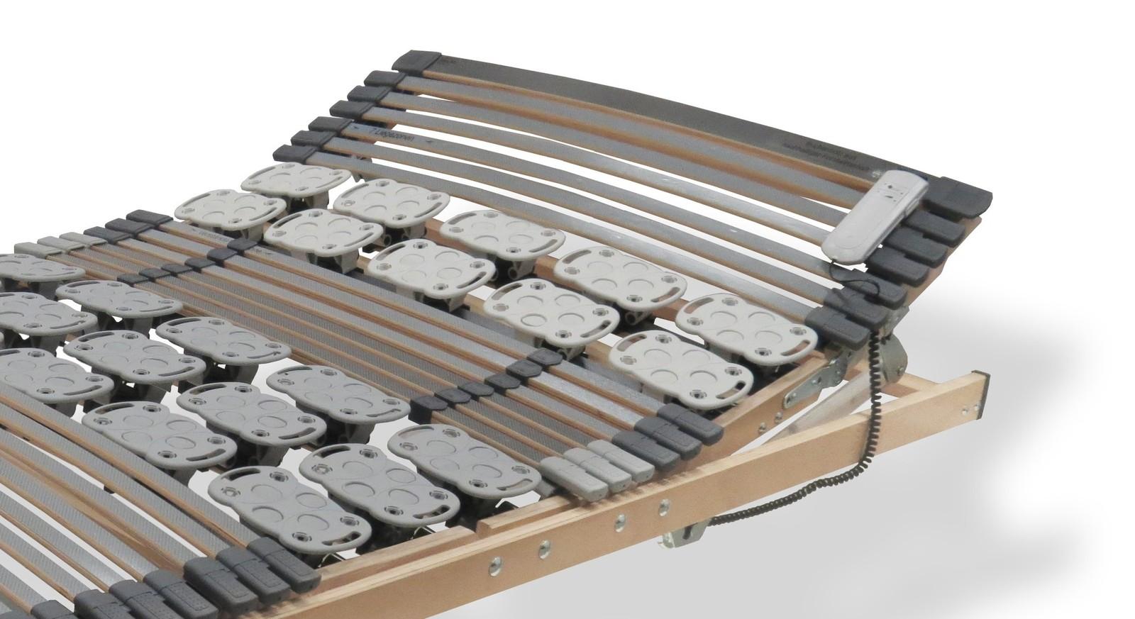 Lattenrost orthowell kombiflex motor mit Kopfteil-Verstellung
