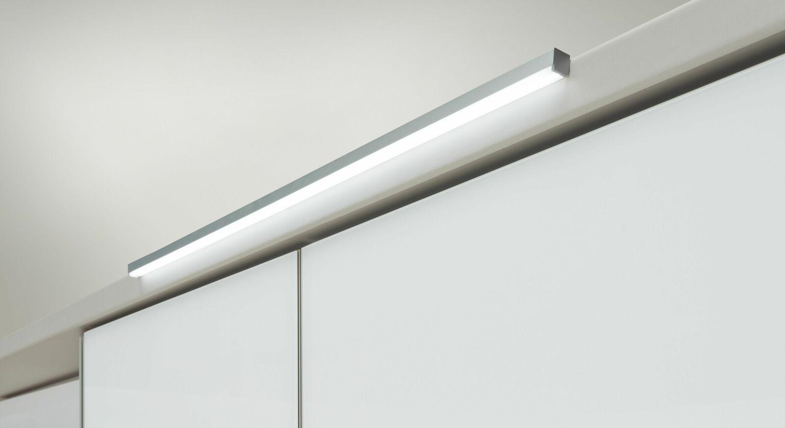Energiesparende LED-Vorbauleuchte Evansville