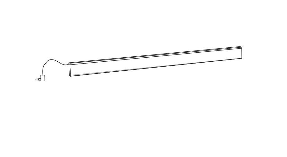 Lichtschiene Pelham mit sparsamen LED Leuchten