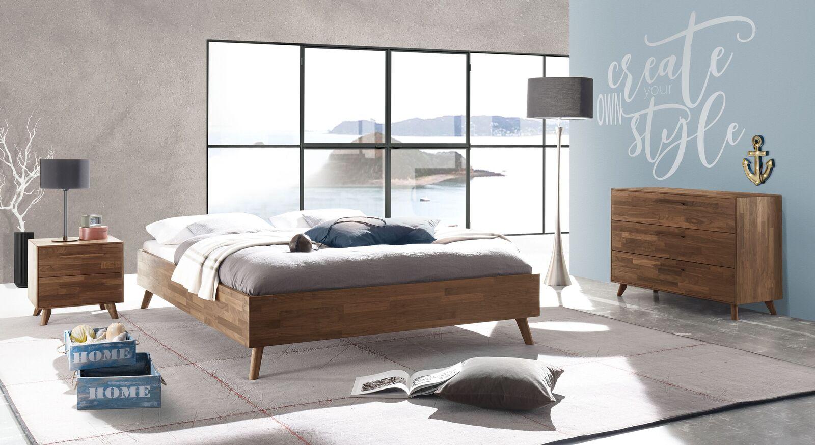 Liege Dorota mit passenden Schlafzimmermöbeln