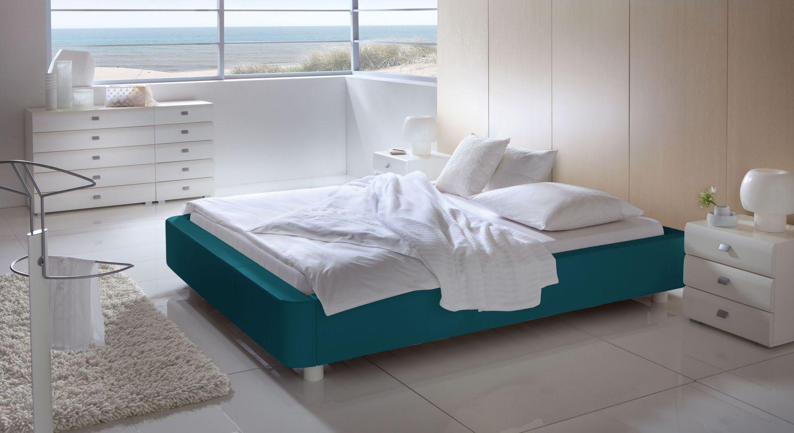 polsterliege mit kunstlederbezug in modernen farben harmony. Black Bedroom Furniture Sets. Home Design Ideas
